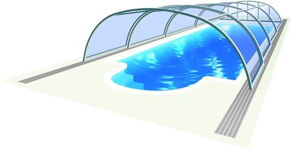 pomična streha za bazen