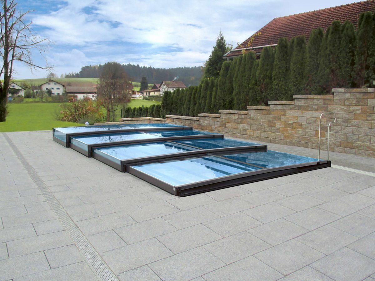 Kaj pomeni Bazenska Streha za Vaš bazen  –   predstavljamo model Terra