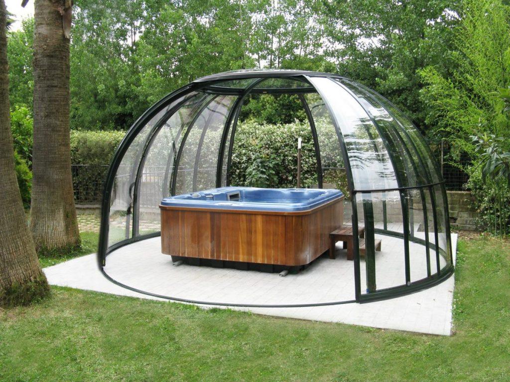 kupola za masažni bazen